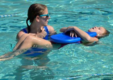 Girl-in-Swim-Lesson
